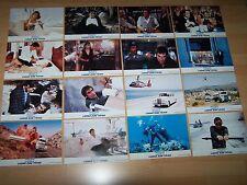 LIZENZ ZUM TÖTEN - 16 Aushangfotos + Plakat A1 ´89 - TIMOTHY DALTON James Bond