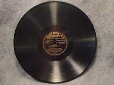 "78 RPM 10"" Record Red Nichols Nobodys Sweetheart & Avalon Instrumentals 80070"