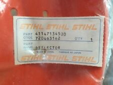 Genuine Stihl Brushcutter Whippersnipper deflector - p/n: 411 471 34500 -SC036