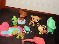 Littlest Pet Shop Animal Figure Toys & Accessories Lot Dog, Turtle, Bird +