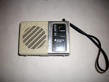 Very nice retro Sanyo RP1280 Transistor portable radio WORK
