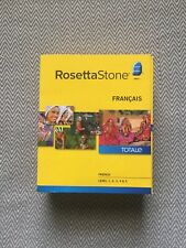 Rosetta Stone French Version 4 Level 1-5 Français