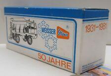 """Gama:  Faun  Winterdienst Streuwagen  , Werbemodell """"50Jahre Weisser Streuer"""""""