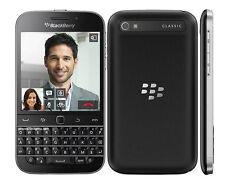 "New Unlocked Original BlackBerry Classic Q20 16GB 3.5"" 8MP Smartphone Black"