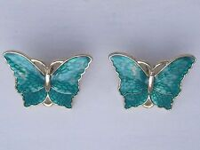 Turquoise Butterfly  Earings