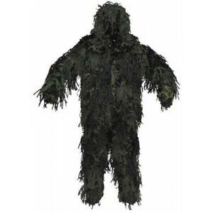Costume de Camouflage Ghillie Chacal 3-D Corps Système Woodland Pantalons Veste