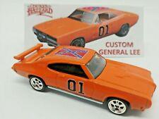 Hot Wheels Custom Dukes of Hazzard General Lee '70 Pontiac GTO Real Rider