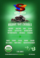 Organic Tart Cherries Wildcrafted - 12 Ounce Resealable Stand Up Pouch $21.25