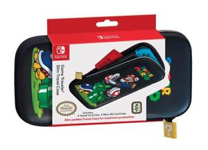 Nintendo Switch Slim Traveling Case w/ Cartridge Holder - Super Mario