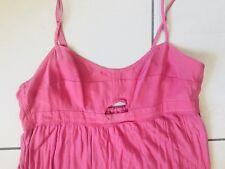 robe BERENICE neuve rose en modal et soie taille XS