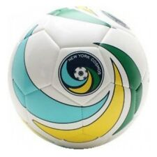 Umbro New York Cosmos Blade Trainer Soccer Ball Yellow/Blue/Grn Brand NEW Size 5