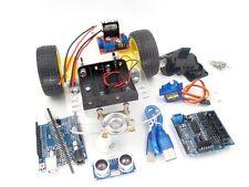 Smart Car 2WD Robot Motor Auto Chassis Roboter Kit Speed Encoder fü Arduino MCU