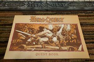 Heroquest Quest Book. Average Condition.