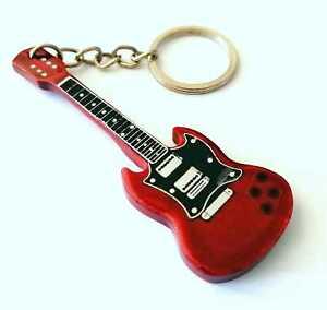 Gibson SG Angus Young Portachiavi chitarra - Guitar keychain - Guitarra Llavero
