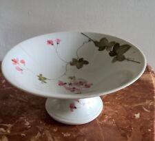 antica alzata in ceramica Richard Ginori decoro a mano anni 40 buone condizioni