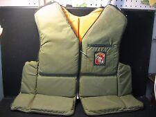 Vintage Stearns Sans Souci Hunter Buoyant Vest Type Iii Pfd Ssv-500 Large