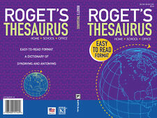 ROGET'S THESAURUS HOME SCHOOL OFFICE* Soft Cover Book By KAPPA BOOKS 194 Pages