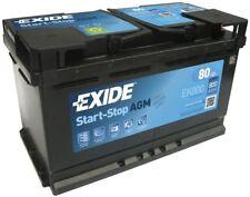Battery Exide EK800 Fulmen FK800 12v 80ah 800A 315x175x190mm