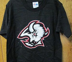 Buffalo Sabres Youth T-Shirt Majestic Small 6-8 100 % Cotton NHL Team Logo # 17