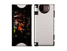Skinomi Carbon Fiber Film Skin Cover + Screen Protector for Kyocera Echo