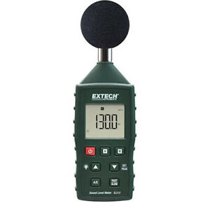 Extech SL510 High-Accuracy Sound Level Meter with A & C Weighting