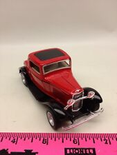 The Menards ~ Red 1932 Ford 3-window coupe ~ Scale 1/34