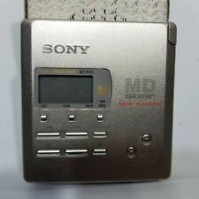 Sony Minidisc Walkman Mz-R55 Md Player Recorder Digital Recording