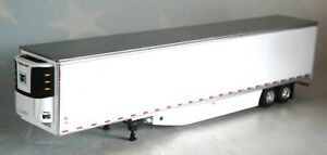 DCP WHITE TANDEM AXLE THERMO KING REEFER WITH SKIRTS 1/64 60-0897 T