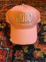 New Dsquared2 WOOD Baseball Cap Hat
