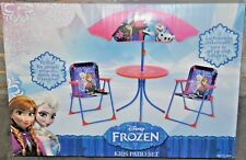 DISNEY FROZEN KIDS PATIO SET  RARE AND  COLLECTABLE