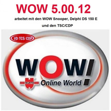 DIAGNOSTIC SOFTWARE 2017 WOW WURTH 5.00.12 + FW 1622 includes 2018 cars download