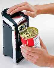 Touch Can Opener Black New Electric Kitchen Cutting Edge Appliance Free Shipping