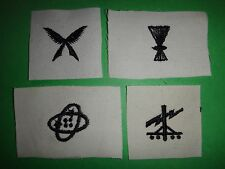 Group Of 4 US Navy Assorted Enlisted Occupation Rating Patches