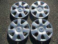 set of 4 genuine Toyota Camry Sienna 15 inch hubcaps wheel covers scratched