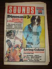 SOUNDS 1988 SEP 24 DINOSAUR JR LIVING COLOUR BON JOVI