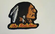 "Washington Redskins vintage embroidered iron on patch 3"" x 3"" NFL  OLD LOGO"