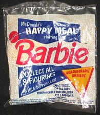 1991 Mattel Made for McDonald's Happy Meal Rollerblade Barbie New Sealed.