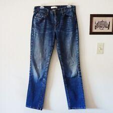 Levi Womens 505 Straight Leg Medium Wash Jeans Sz 10 R
