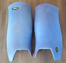 OBO Robo Hi Control Leg Guards - Field Hockey Goalie - Royal Blue - Medium