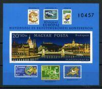 Ungarn MiNr. Block 159 B postfrisch MNH Marke auf Marke (RS1055