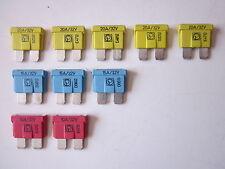 KFZ Flachsteck Sicherungen Flachsicherung Sortiment 10A 15A  20A  10 St.