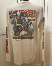 Iron Horse Saloon We Will Never Forget 911 Uncle Sam Long Sleeve White Size XL