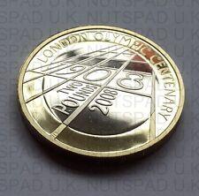 2008 prueba £ 2 la 4ª Olimpiada-London 1908 Dos Libras moneda de prueba