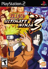 Naruto: Ultimate Ninja 3 - Playstation 2 Game Complete