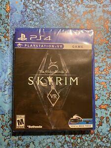The Elder Scrolls V: Skyrim (VR)(NEW, Sony PlayStation 4, 2017) Factory Sealed
