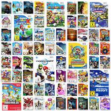 Wii Spiele Auswahl Mario Kart Zelda New Super Mario Bros Just Dance  Sports