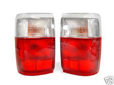DEPO Red / Clear Tail Lights Pair For 90 91 92 93-95 Toyota 4Runner/4 Runner SR5