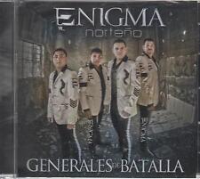 Enigma Norteno CD NEW Generales De Batalla ALBUM Corridos y Canciones SEALED