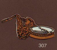 Pin's Demons & Merveilles Cinema Music Musique Jazz instrument Saxophone banjo