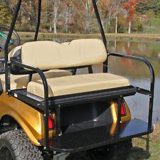 Club Car DS Golf Cart, Deluxe Flip-Flop Rear Seat Kit, Buff